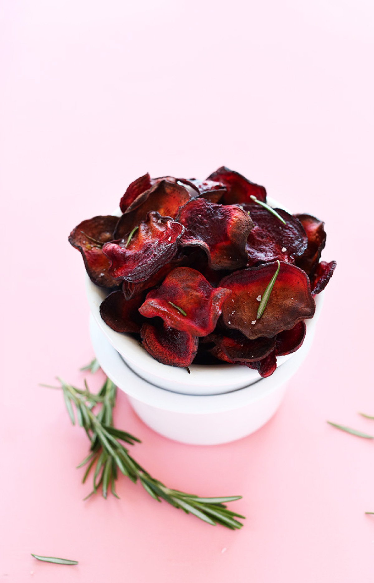 baked rosemary beet chips, i'm going to make these this weekend