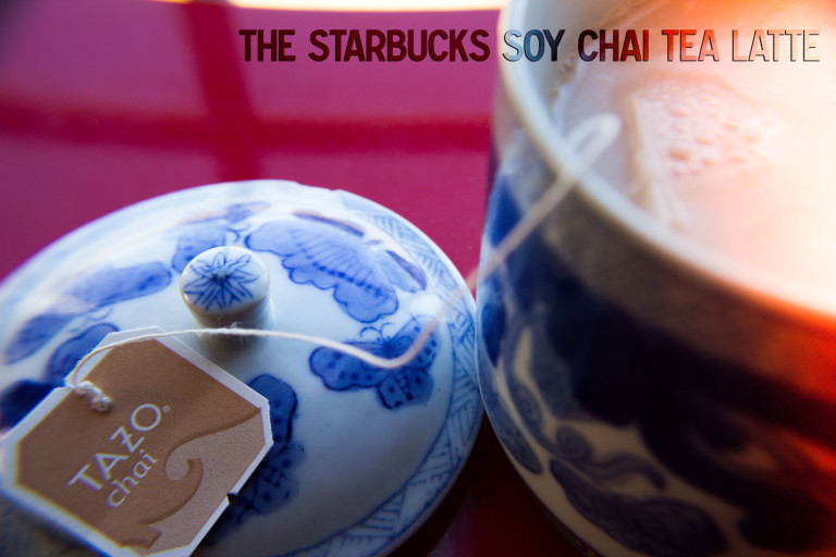 take out the takeout – the starbucks soy chai tea latte