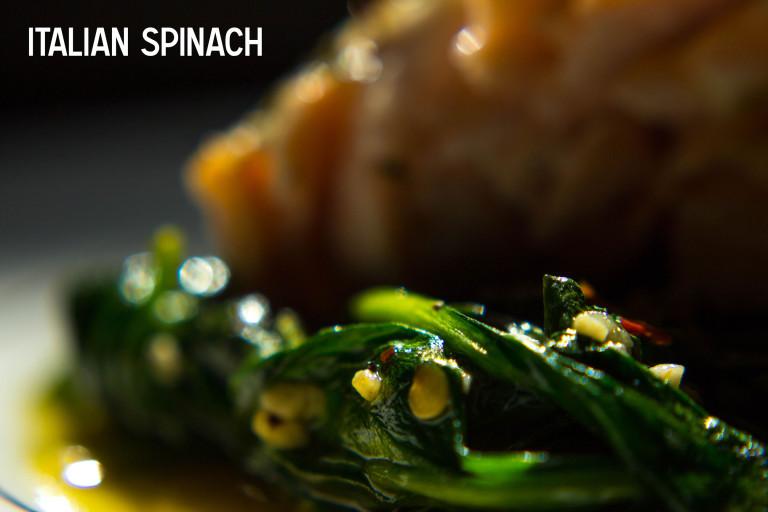 supper please – italian spinach
